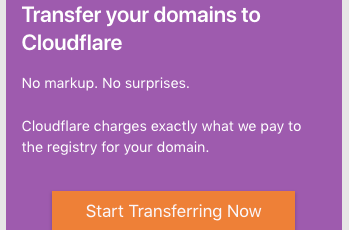 Transfer Ten Mien Toi Cloudflare